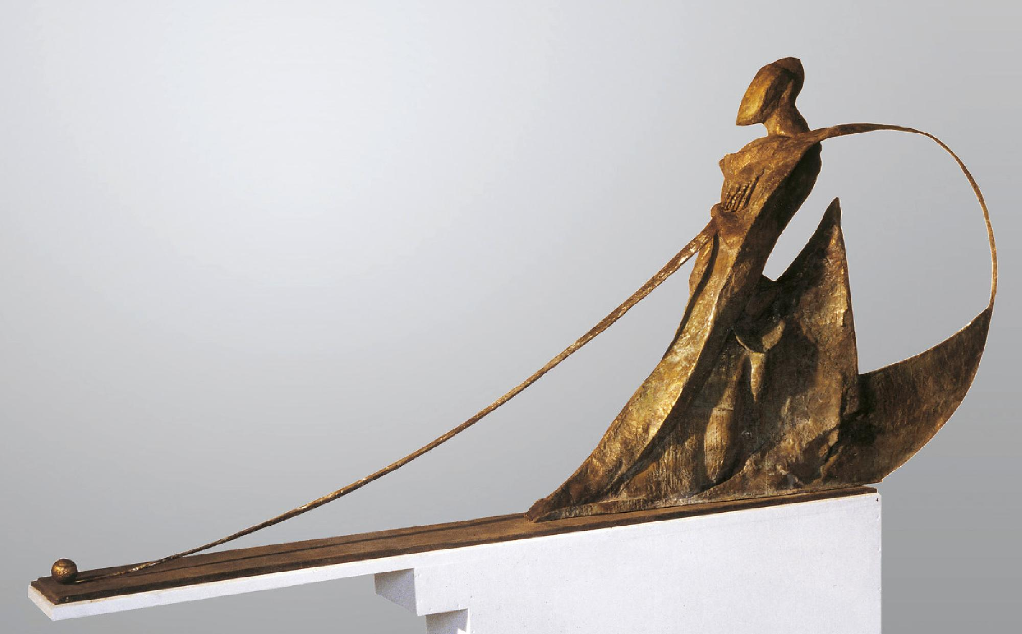 Leonard Lorenz: Focal Point 1999 285 × 135 × 50 cm Bronze